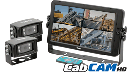 CabCAM™ High Definition Quad Video System A-HD10M2CQ