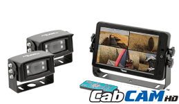 CabCAM™ High Definition Quad Video System A-HD7M2CQ