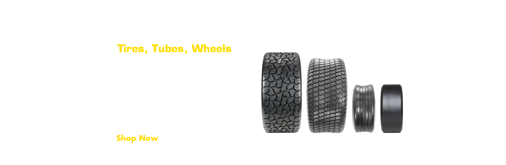 Learn more about our tire offering